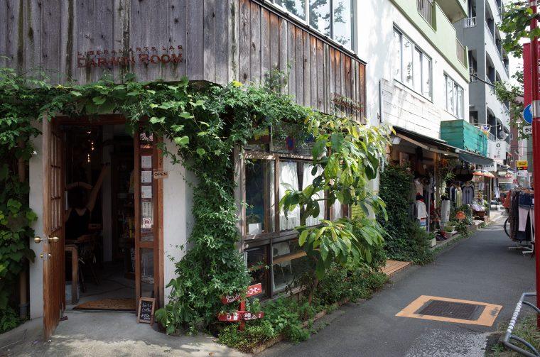 下北沢のおしゃれなカフェ『ダーウィンルーム (DARWIN ROOM)』前